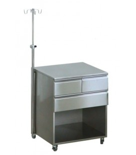 Szafka anestezjologiczna Szla z blachy kwasoodpornej