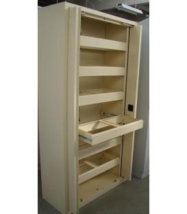 Szafy biurowe Sbm 210 z szufladami ramowymi