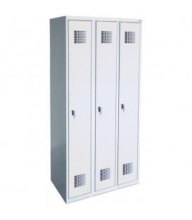 Szafa ubraniowa Sum 330 W, zamek ryglujący drzwi w jednym pkt